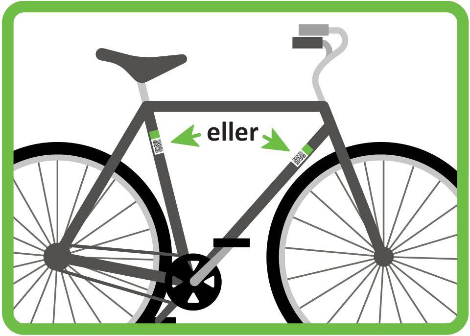 Placera fordonsdekal - Cykelrum.se